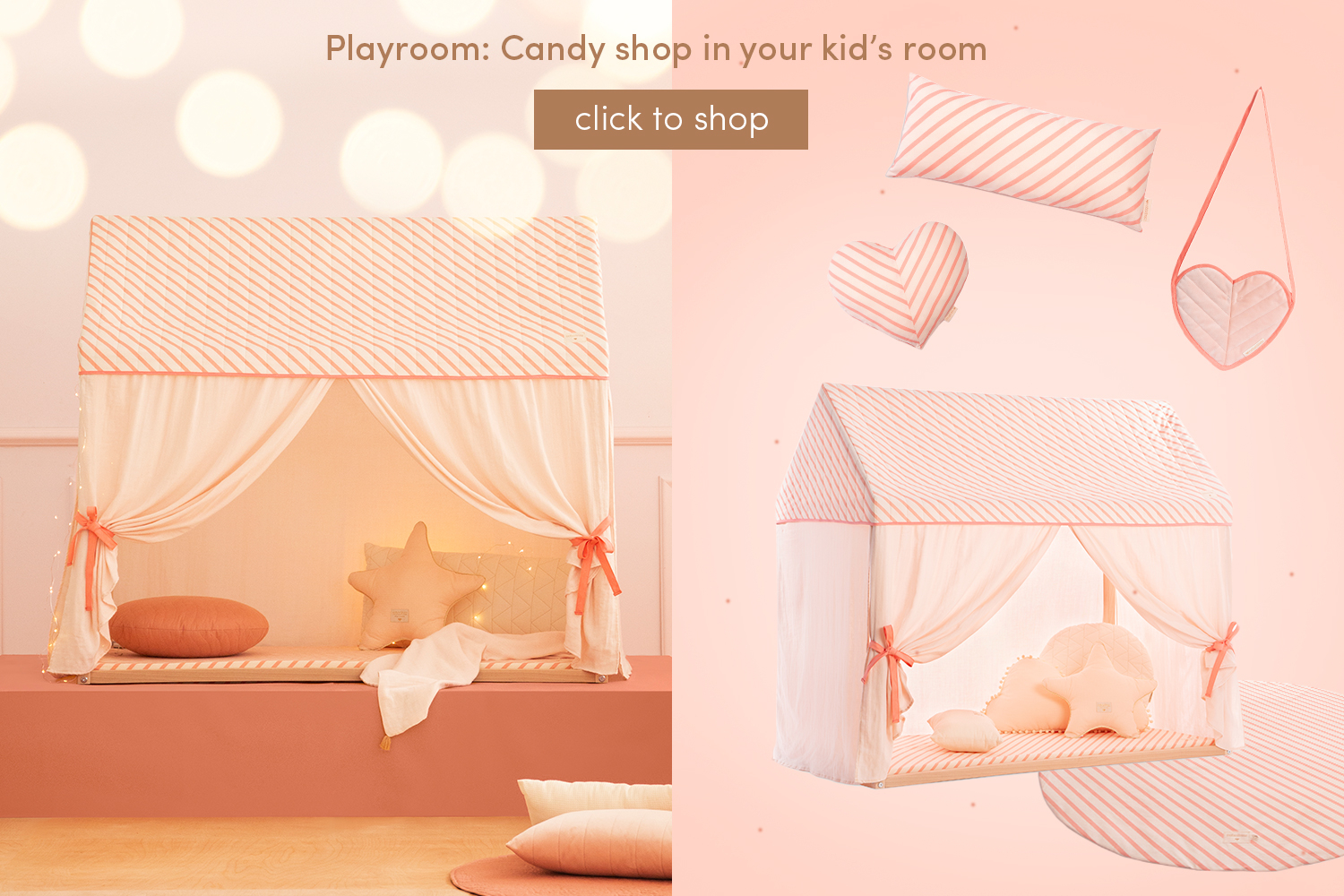 Playroom: Candy shop in your kid's room