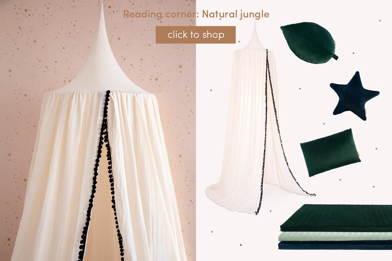 Reading corner: Natural jungle
