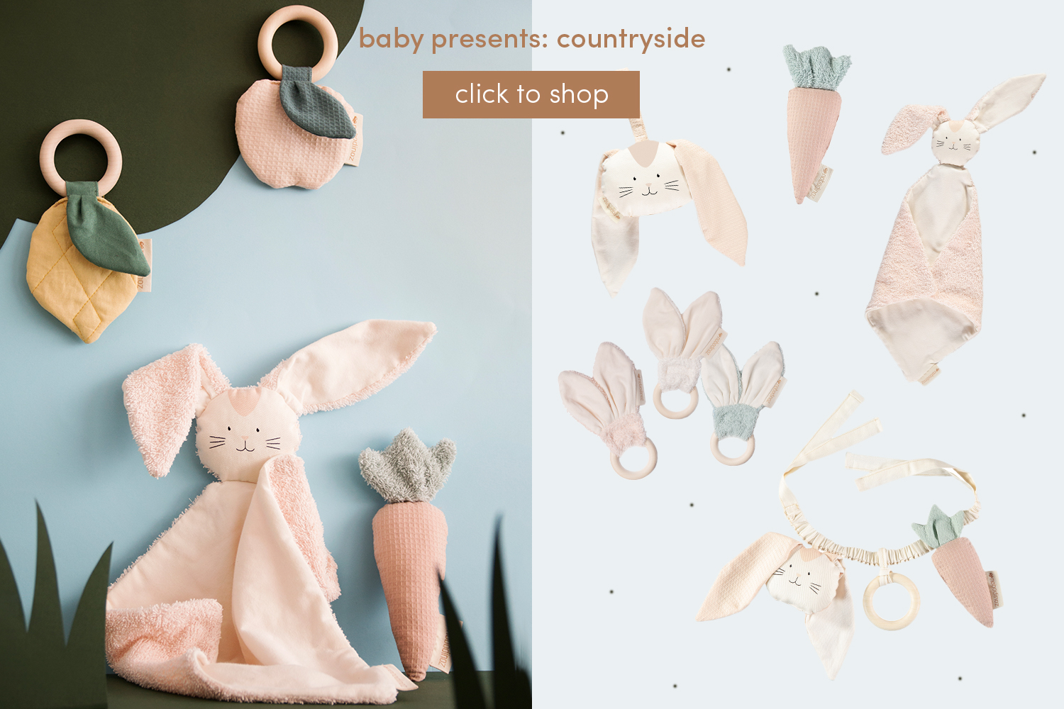 Baby presents: Countryside
