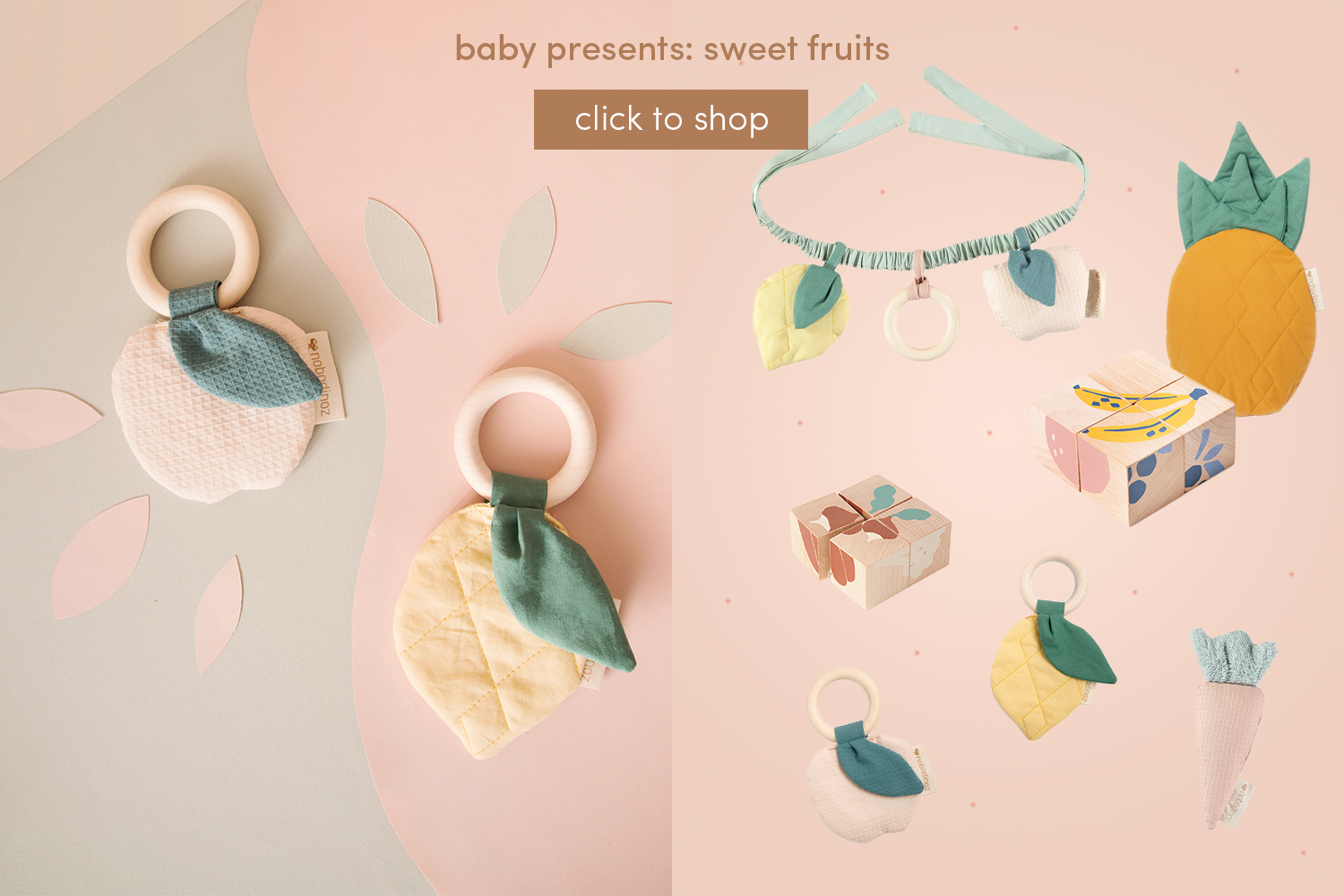 Baby presents: Sweet fruits