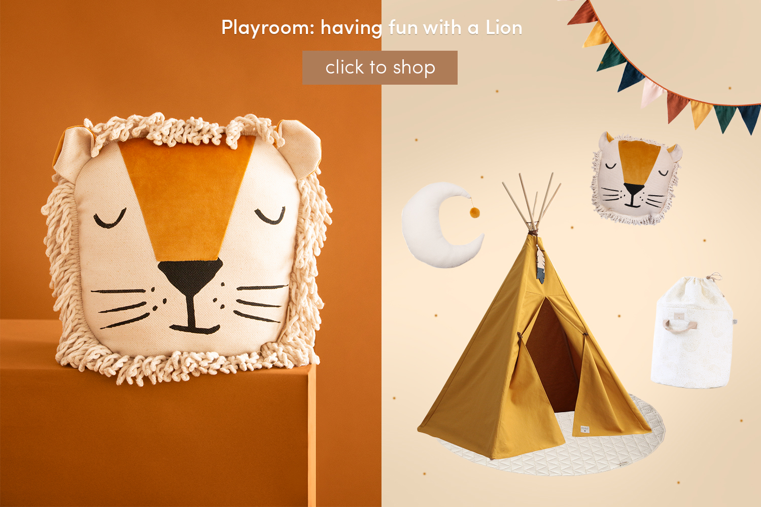 Playroom: Having fun with a Lion