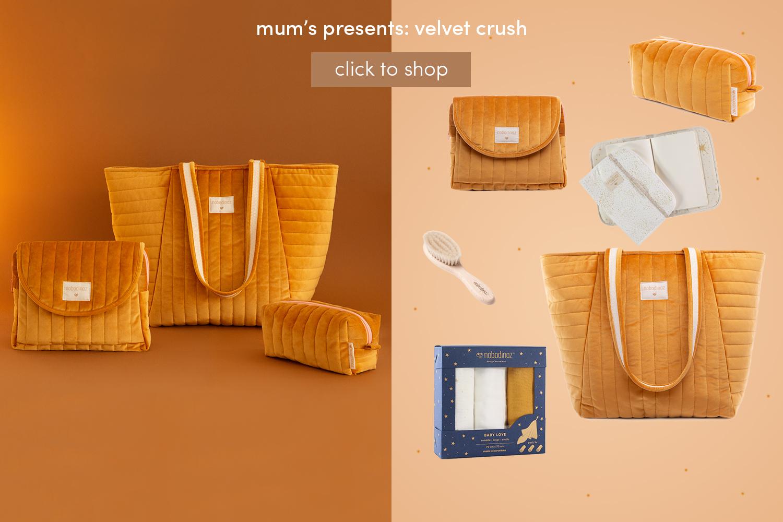 Mum's presents: velvet crush