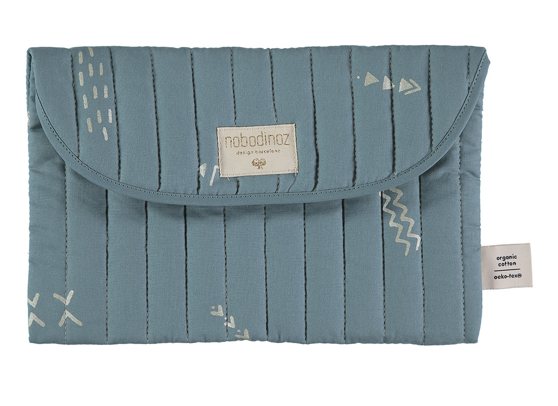 Estuche Bagatelle 19x27 gold secrets/ magic green
