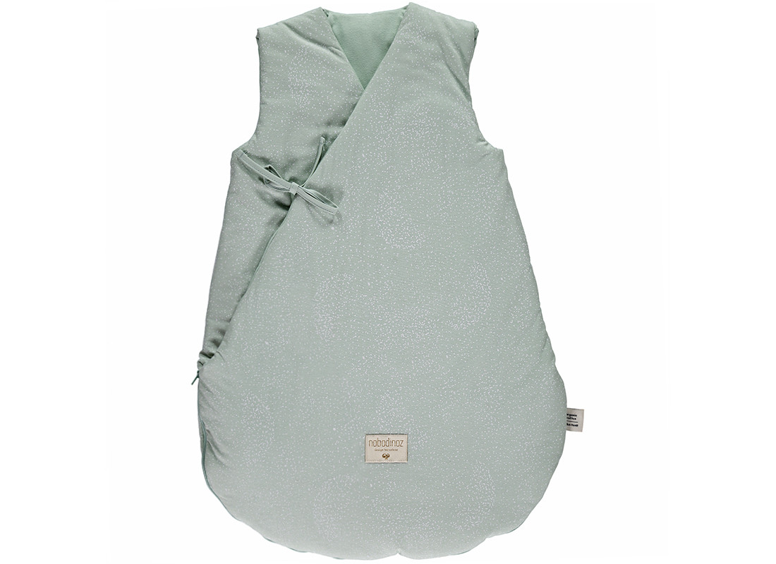 Saco de dormir de invierno Cloud white bubble/ aqua - 2 tallas