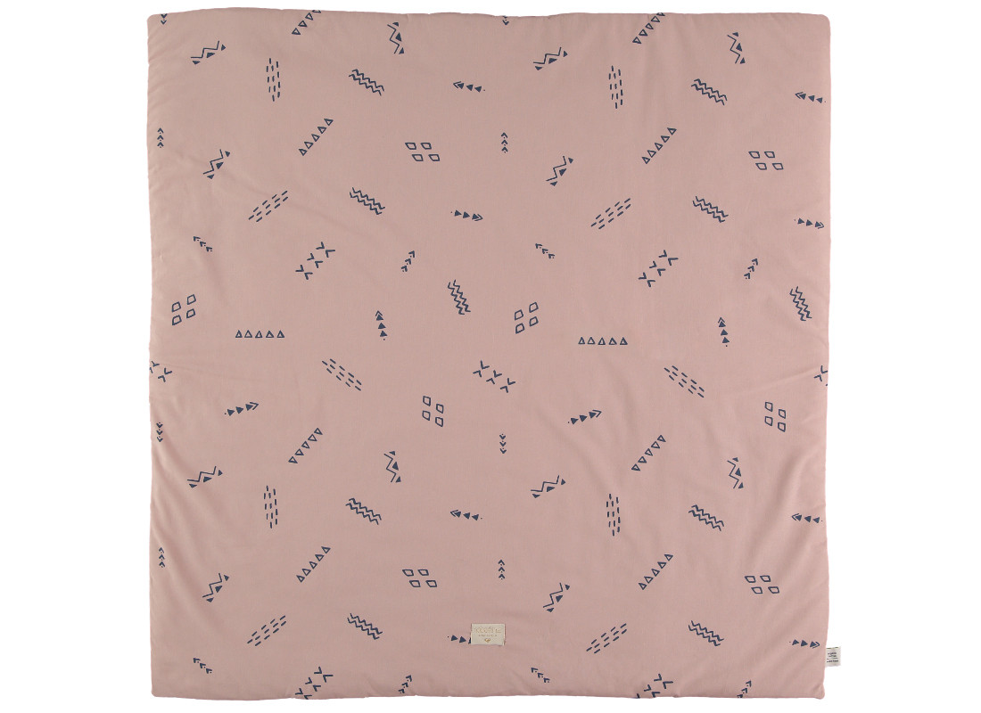 Alfombra de juego Colorado 100x100 blue secrets/ misty pink