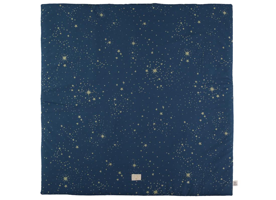 Alfombra de juego Colorado 100x100 gold stella/ night blue