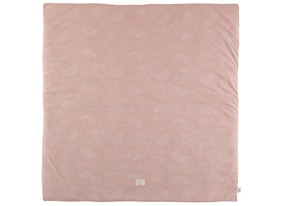 Alfombra de juego Colorado 100x100 white bubble/ misty pink