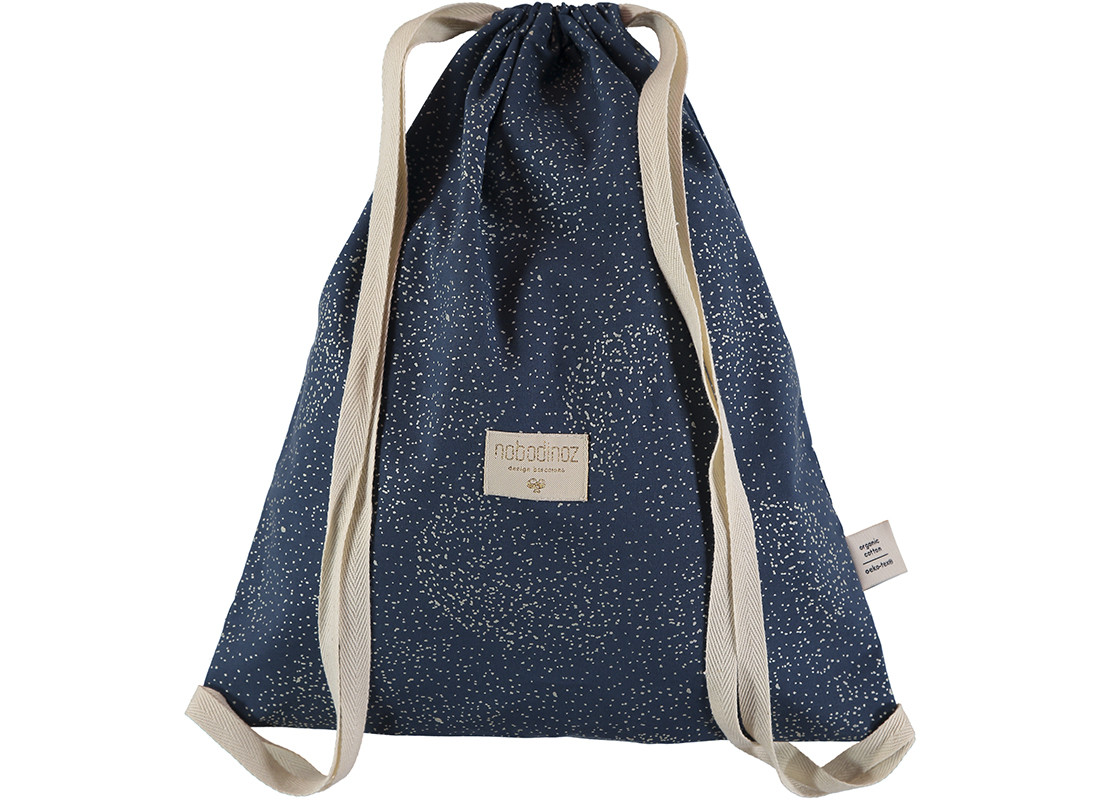 Mochila Koala 40x34 gold bubble/ night blue