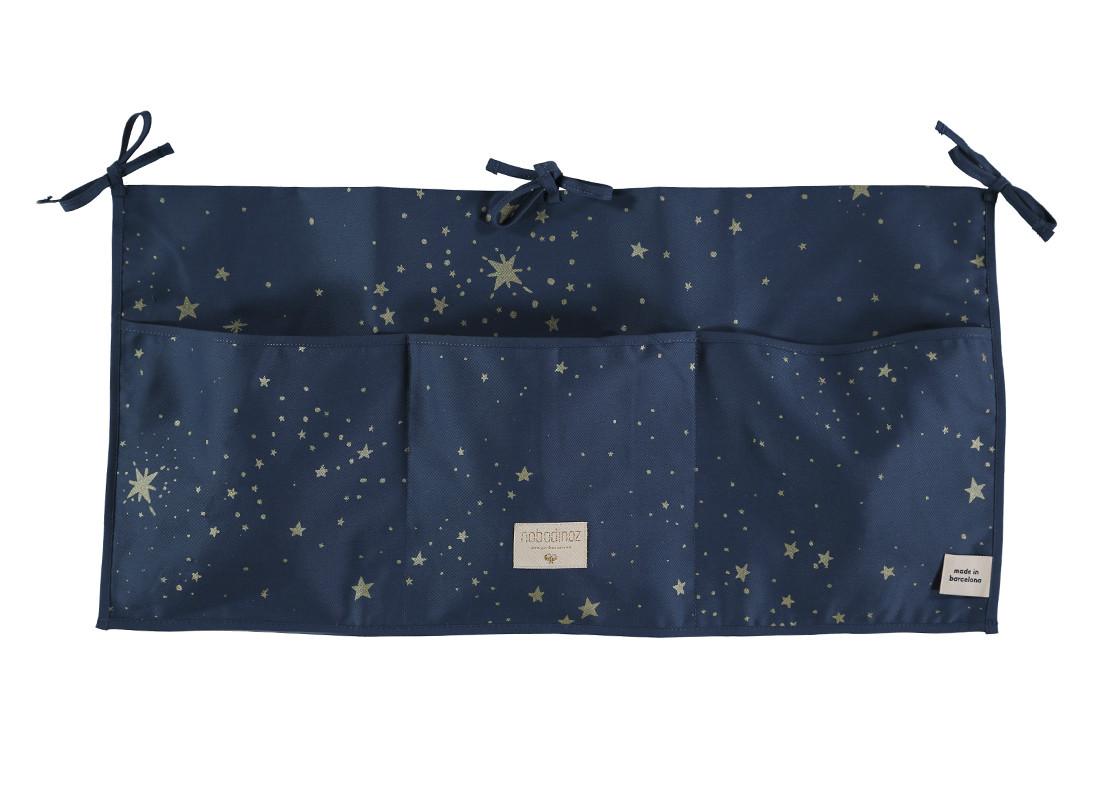 Organizador de cuna Merlin 30x60 gold stella/ night blue