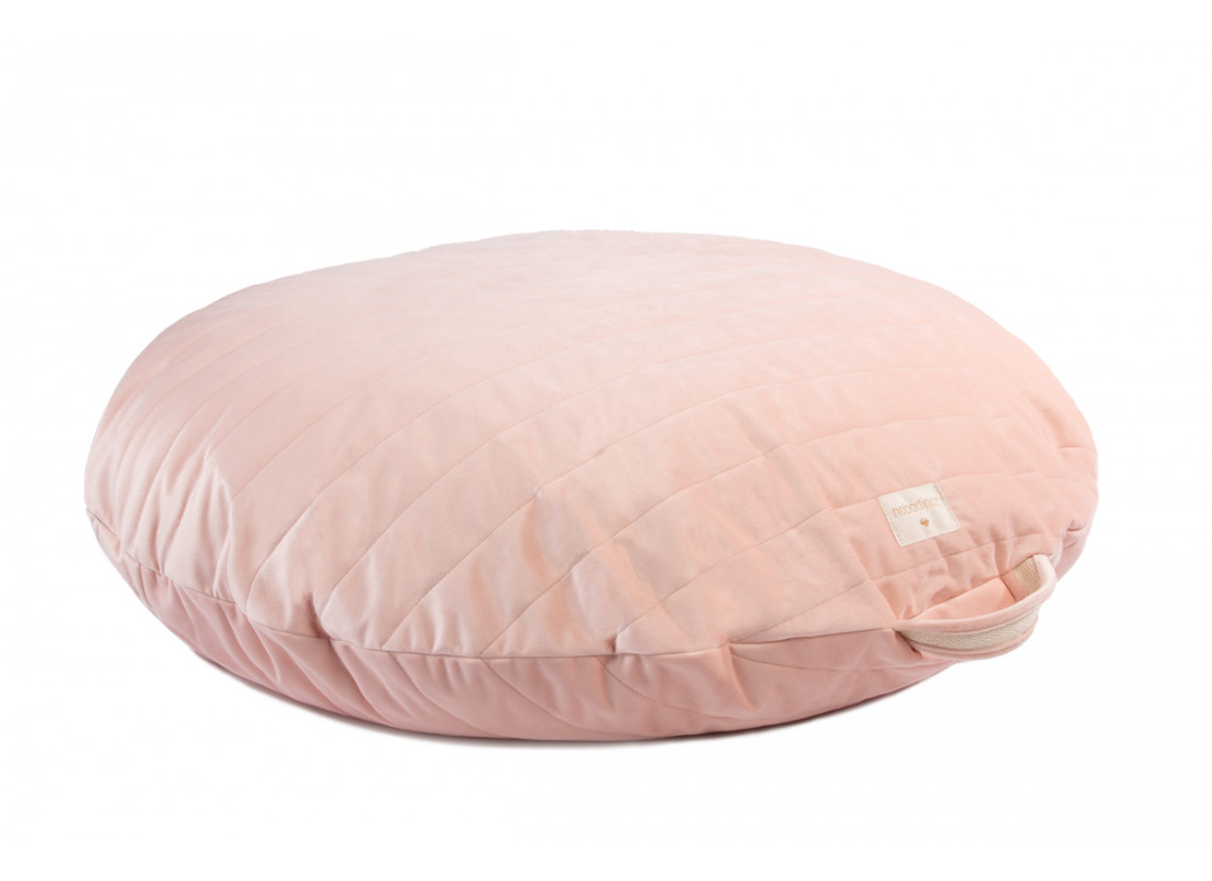 Sahara velvet beanbag bloom pink