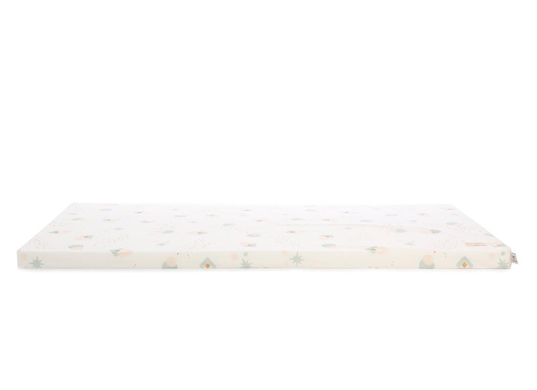 Colchoneta de suelo Saint Barth 60X120X4 aqua eclipse/ white