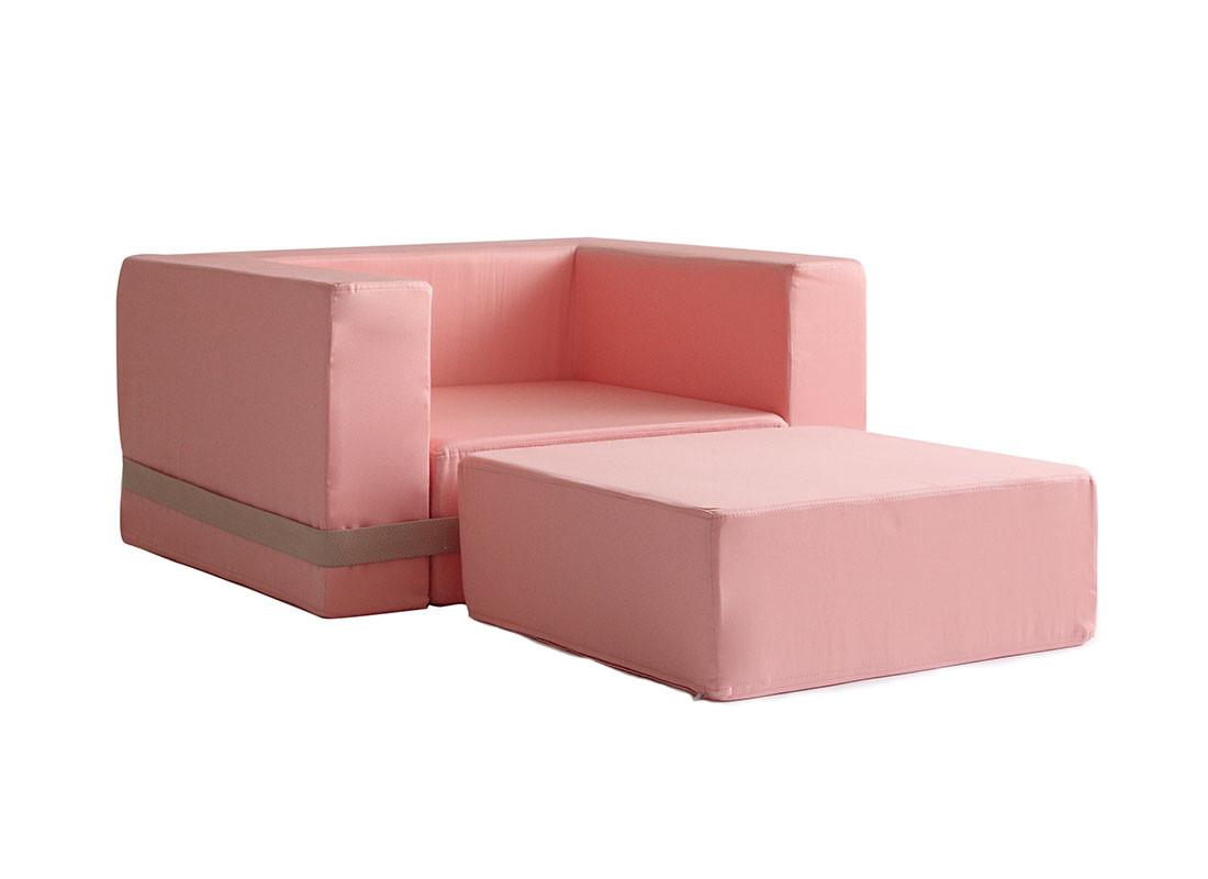 opera pink brooklyn armchair