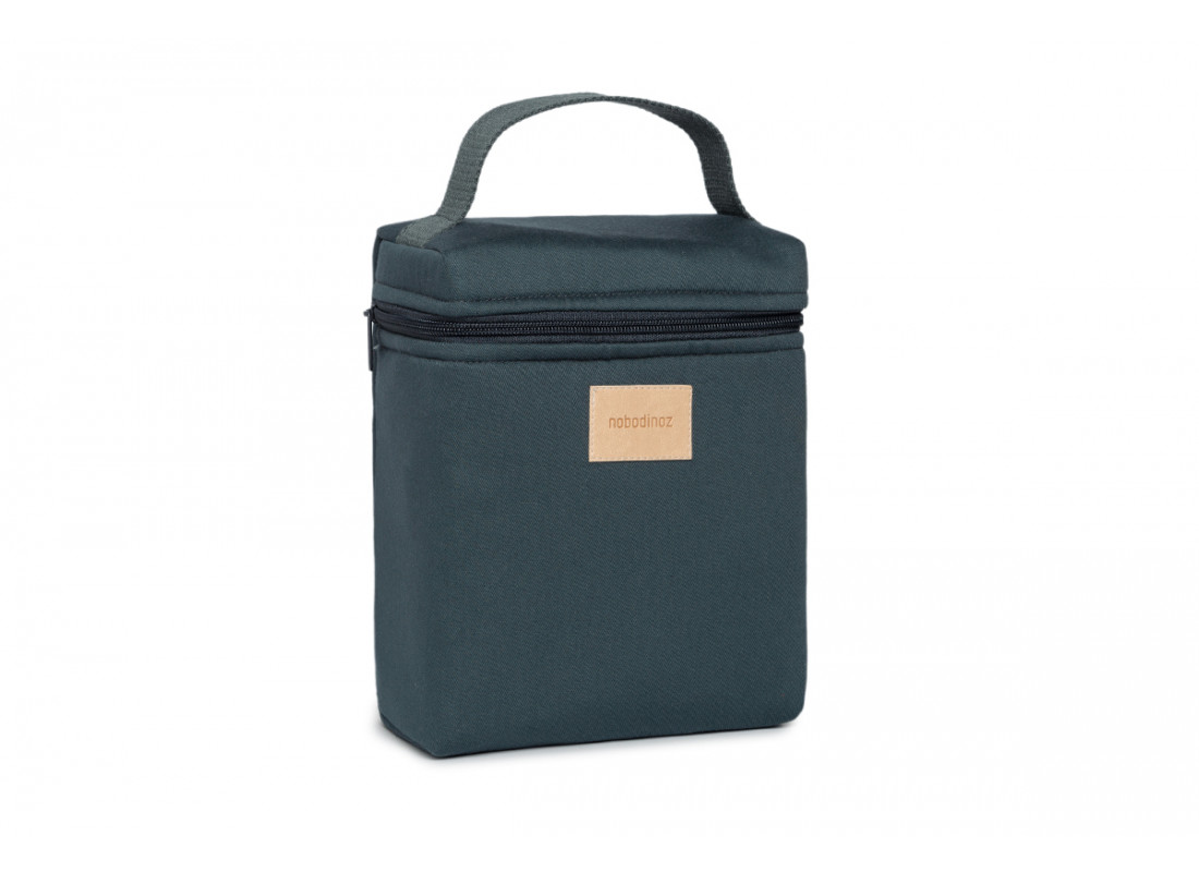 Lunchbag isotérmica Baby on the go • carbon blue