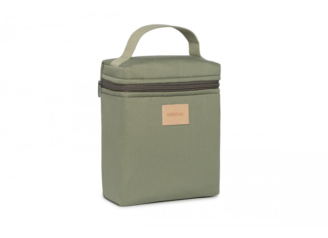 Lunchbag isotérmica Baby on the go • olive green