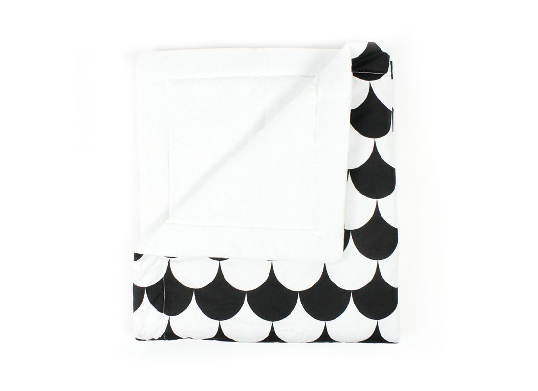 Blanket Copenhague escamas negras – adulto