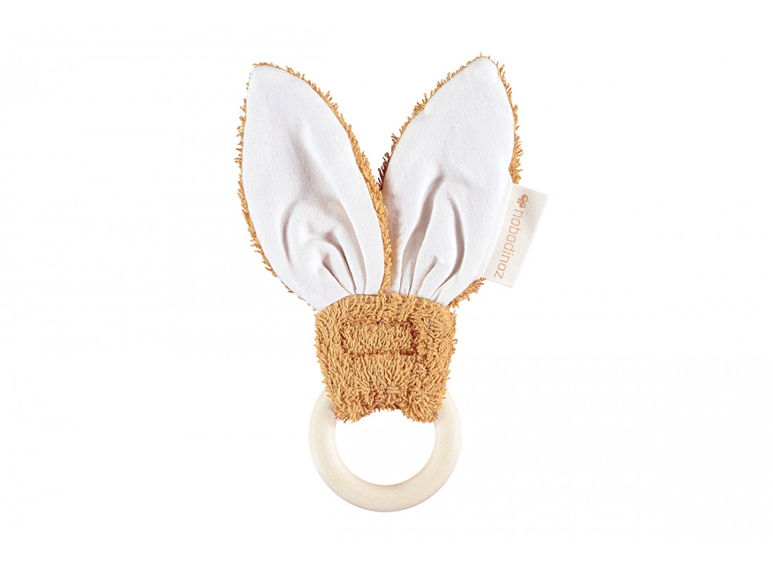 Anillo de dentición Bunny • caramel