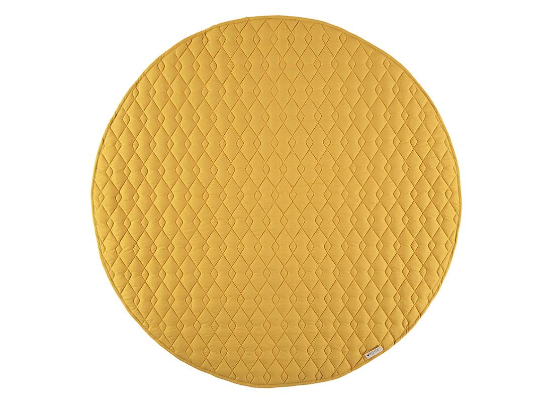Alfombra de juego Kiowa 105x105 farniente yellow