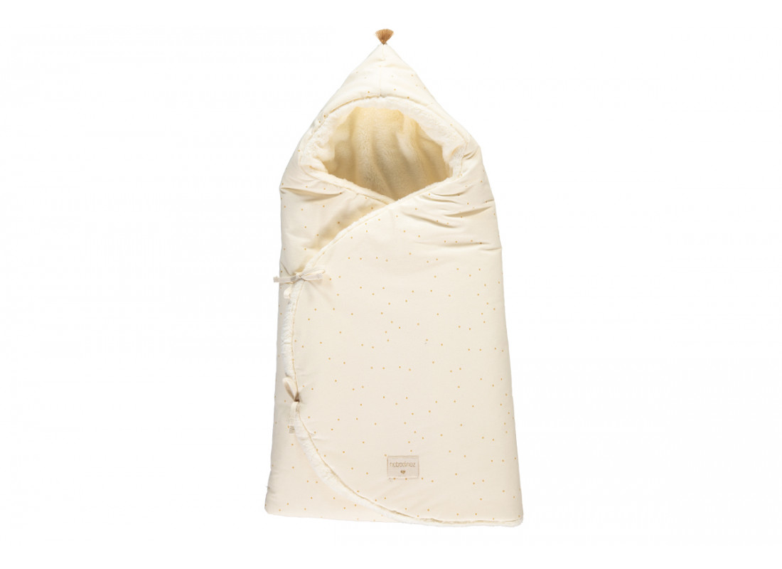 Saco capazo de invierno Cozy 0-3M honey sweet dots/ natural