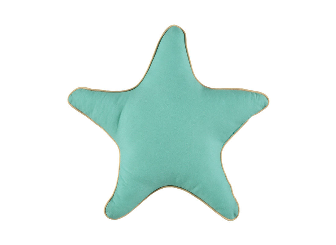 Cojin Star small 35x35 tropical green