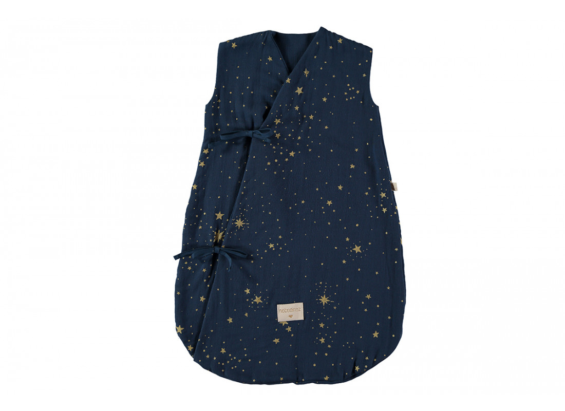 Saco de dormir de verano Dreamy  0-6M gold stella/ night blue