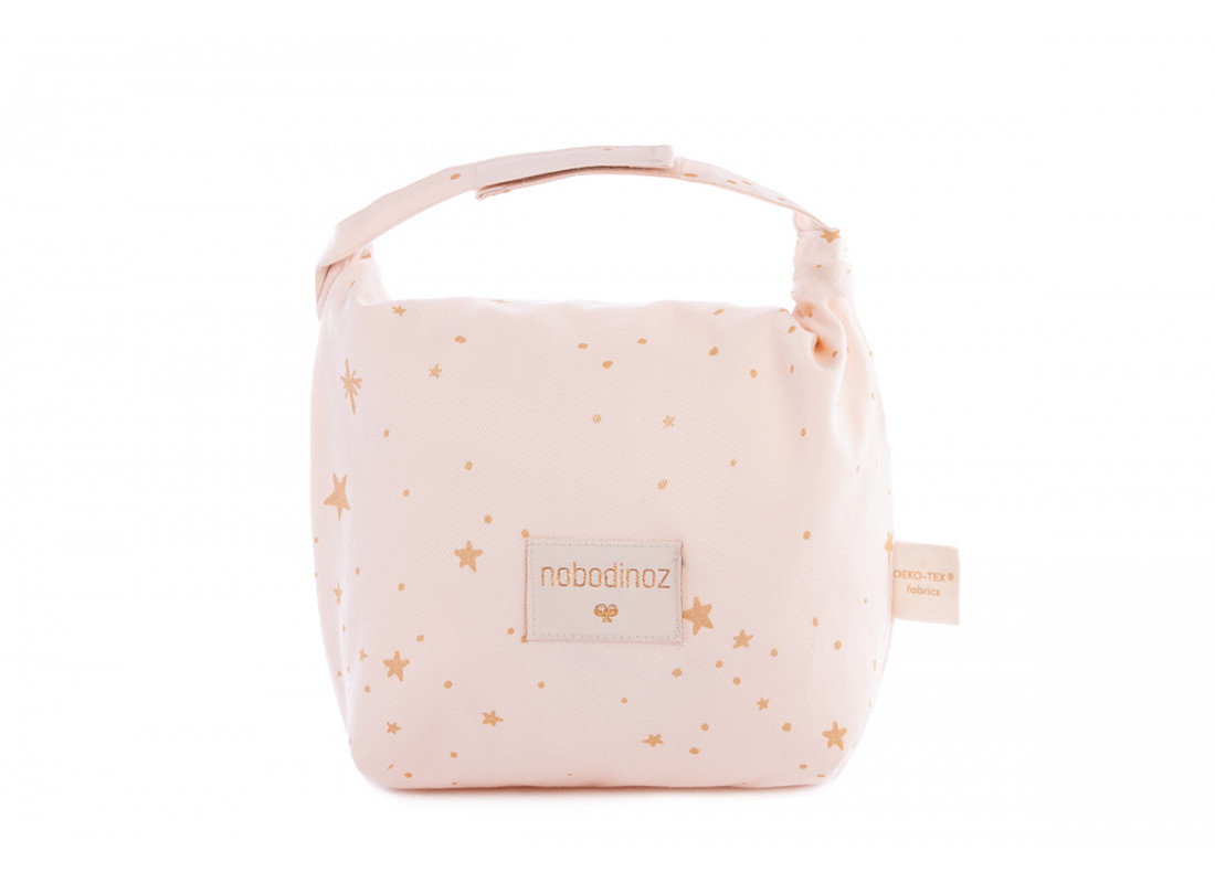 Bolsa de merienda eco Too Cool • gold stella dream pink