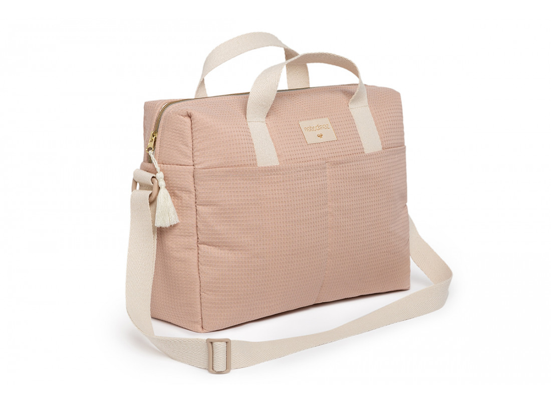 Bolso cambiador impermeable Gala • misty pink