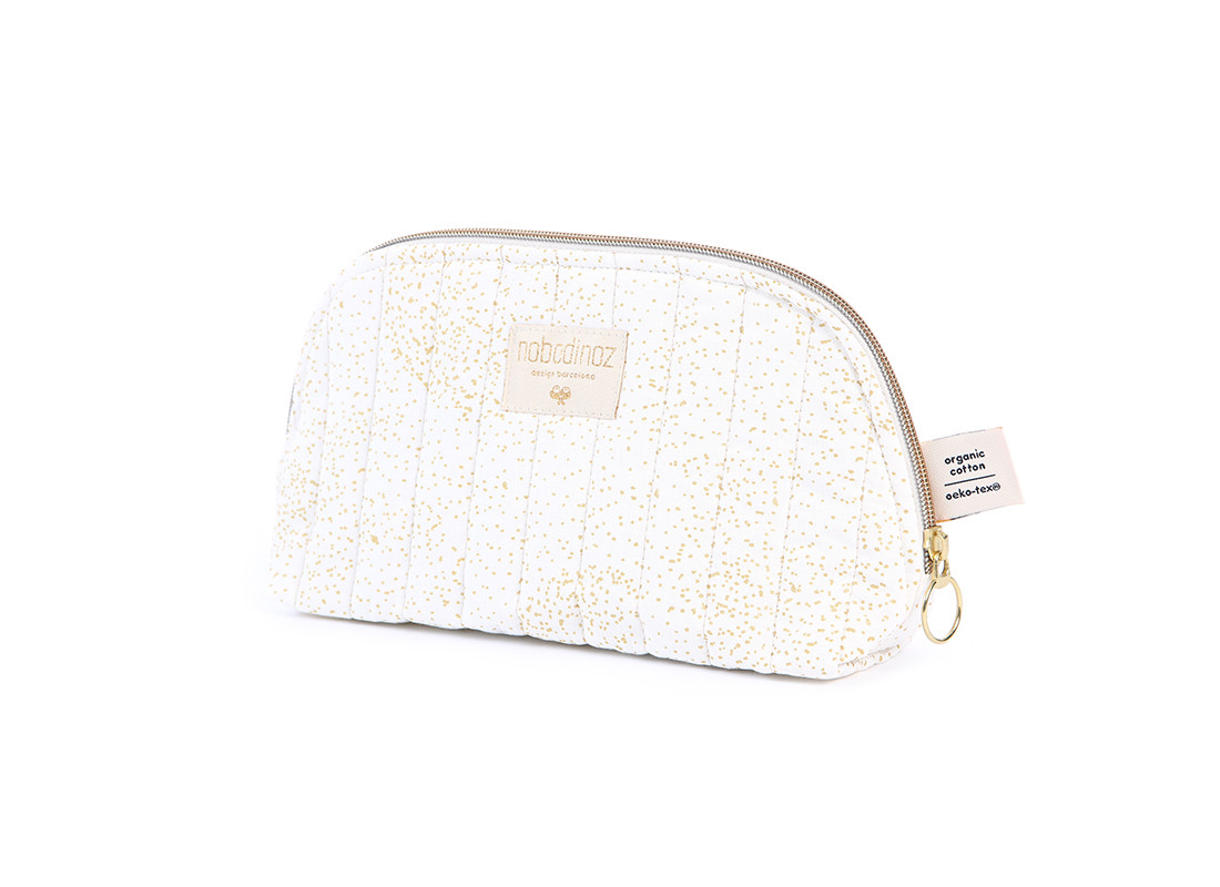 Neceser Holiday • gold bubble white