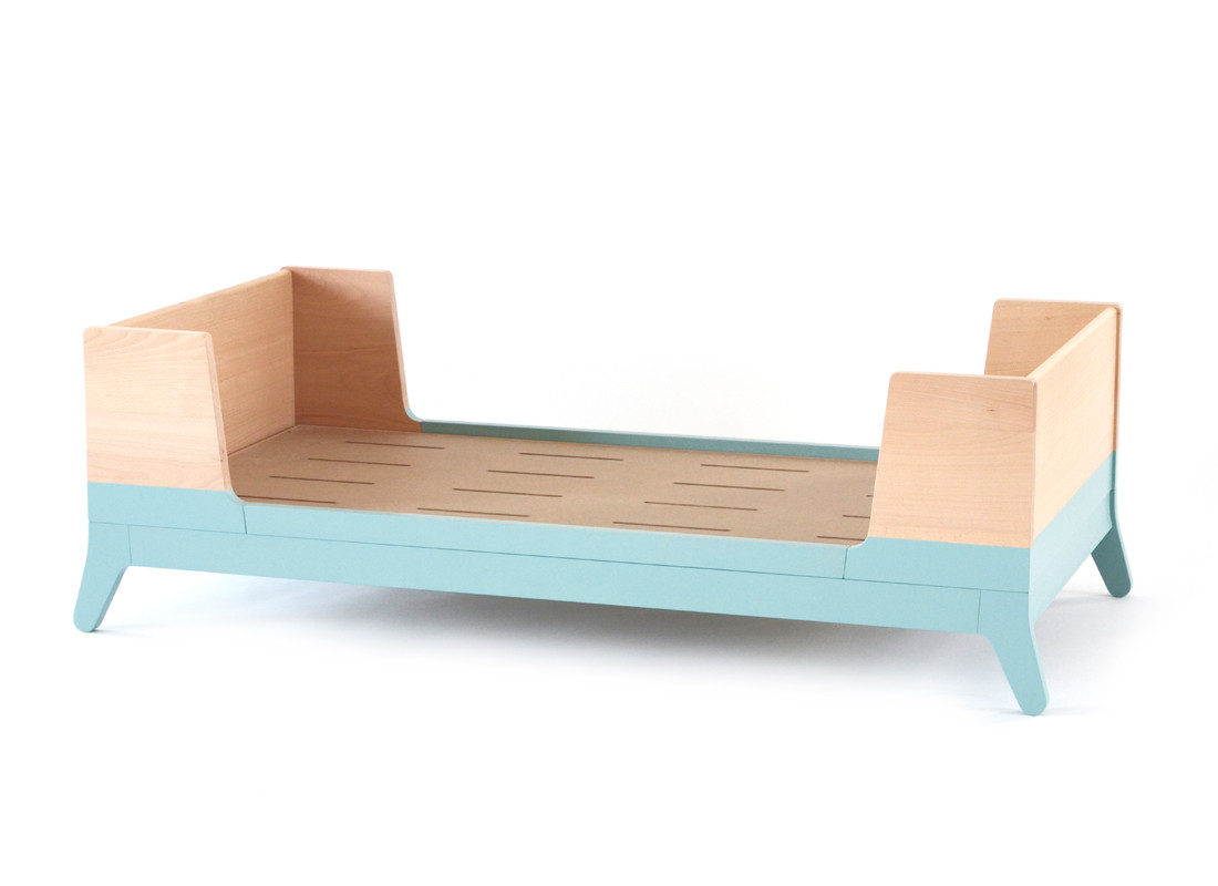 Toddler bed Horizon tropical green