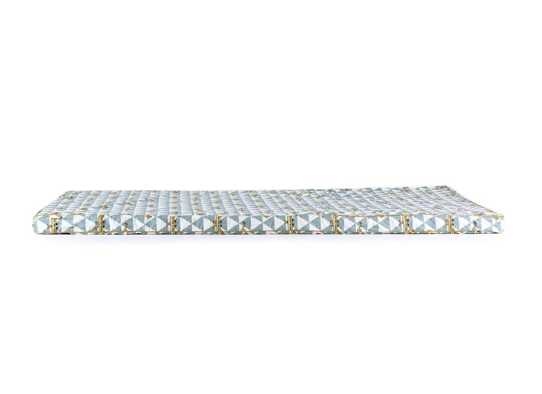 Colchoneta de suelo Saint Tropez 120x60x4 piano azul