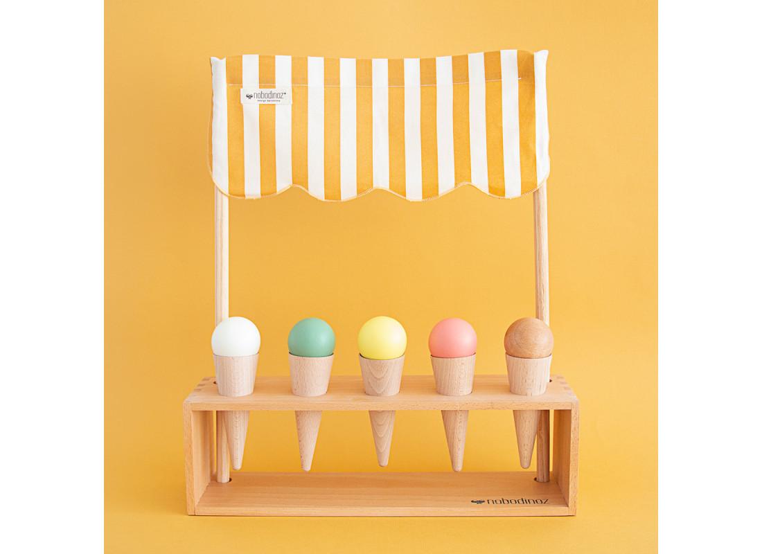 Heladería ice cream corner 40x46x10cm