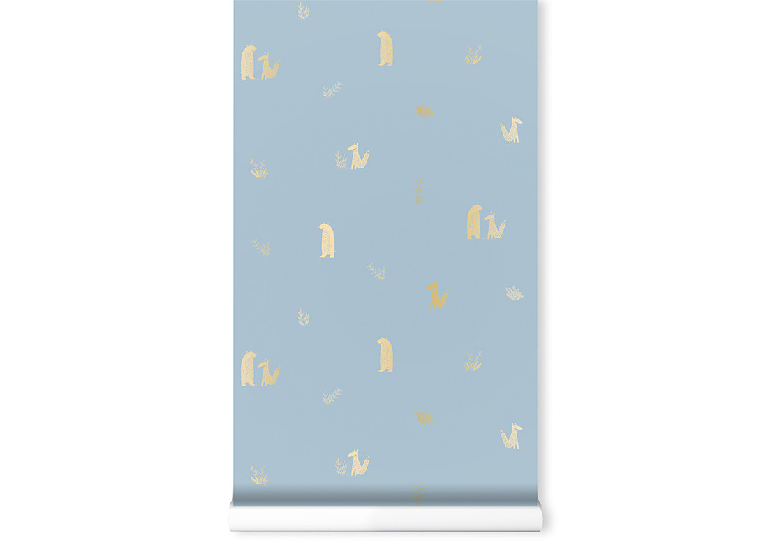 Papel pintado • Jon & June blue