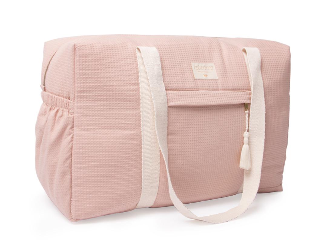 Bolsa de maternidad impermeable Opera 29x46x20 misty pink