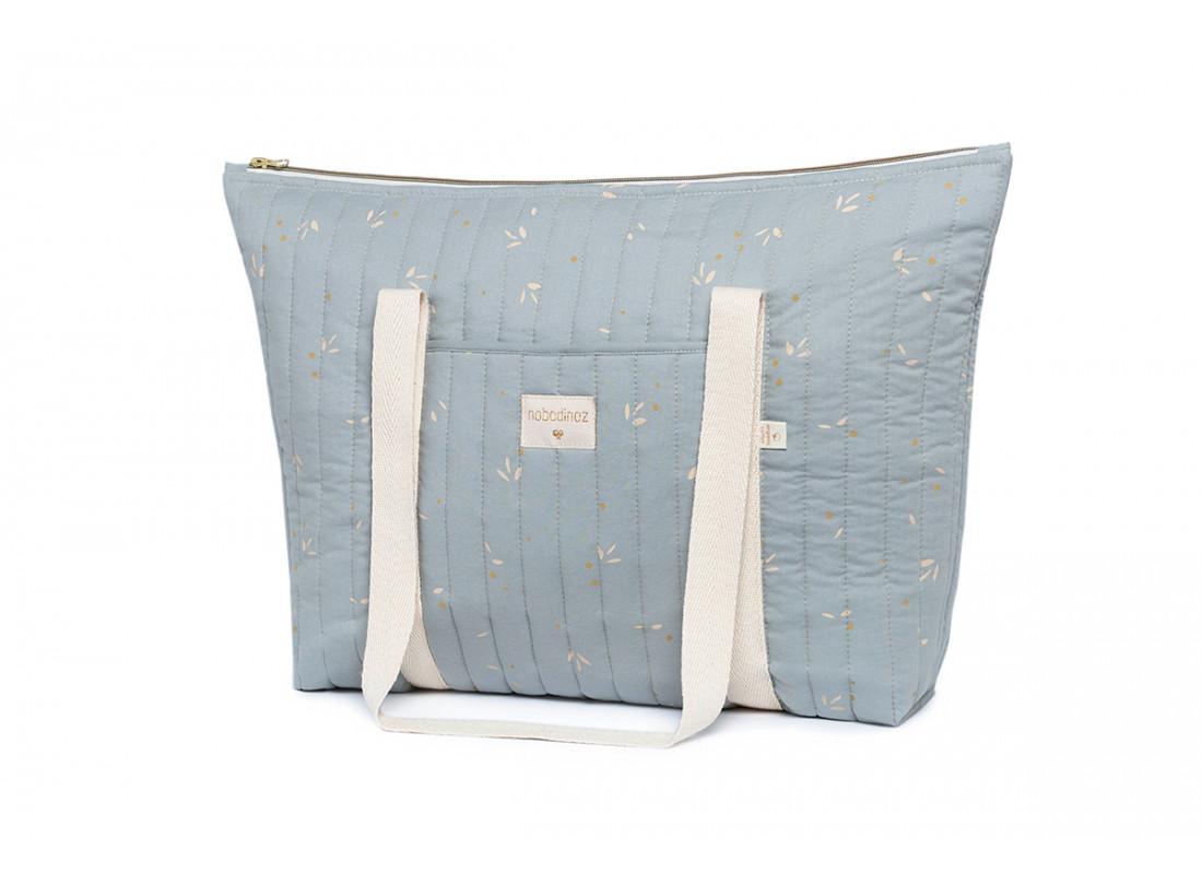 Bolso cambiador Paris • willow soft blue