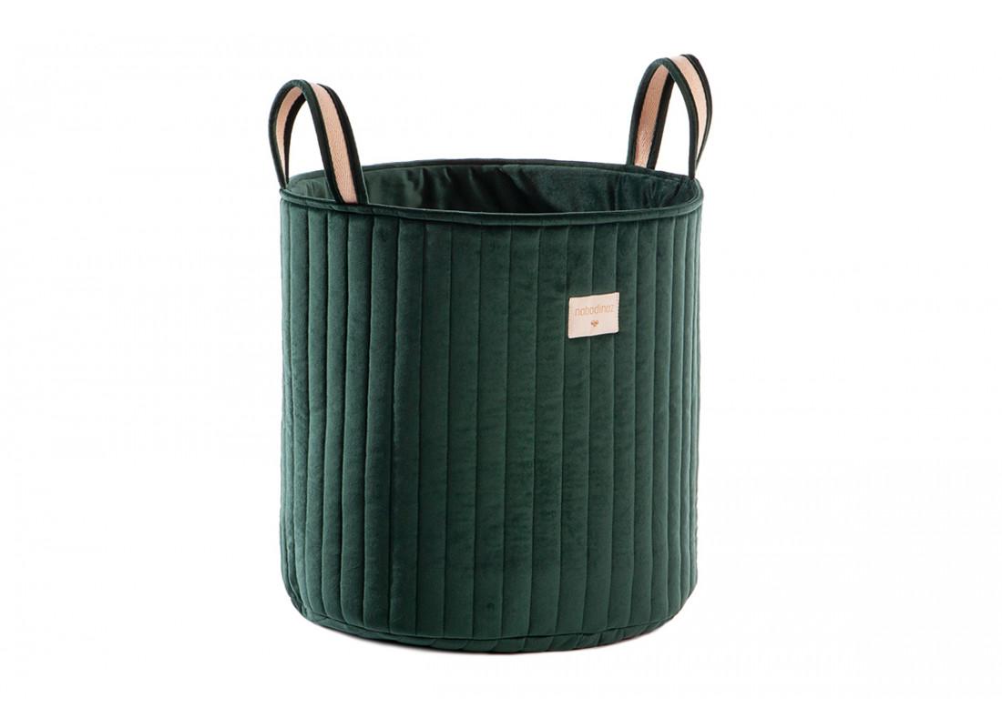 Savanna velvet toy bag jungle green