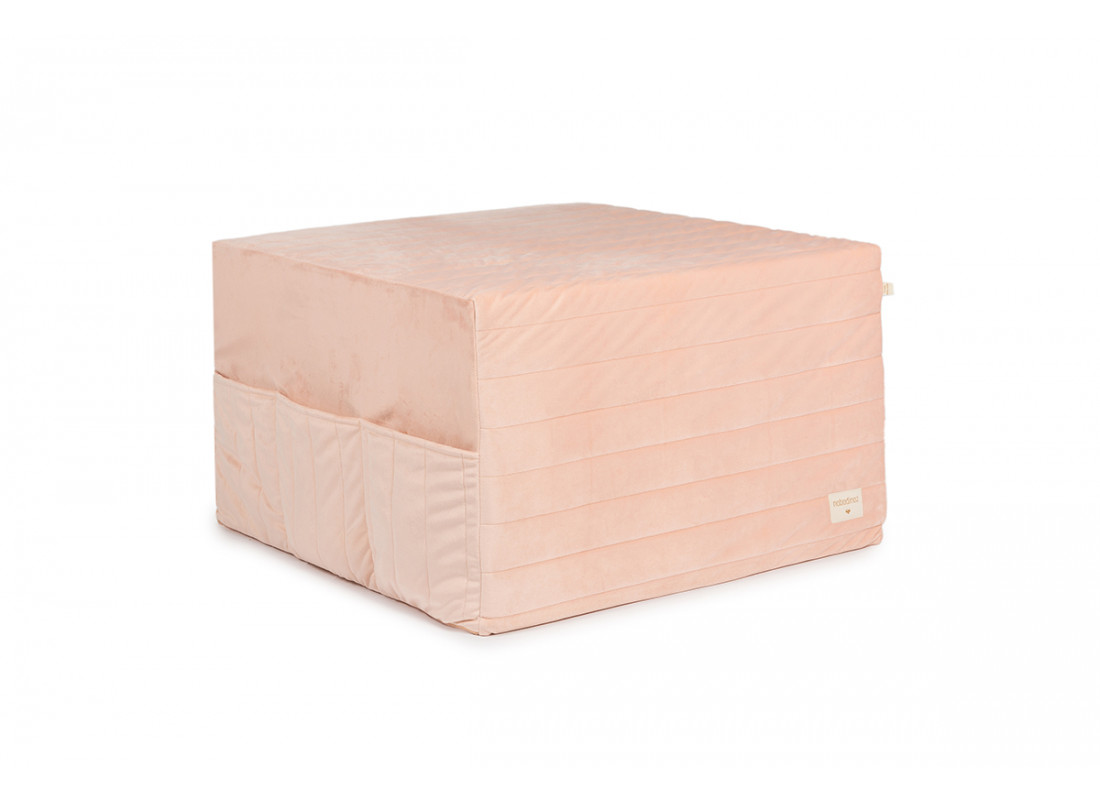 Puf cama plegable Sleepover • velvet bloom pink
