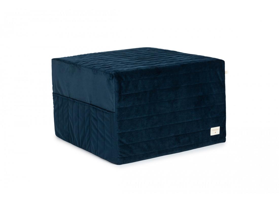 Puf cama plegable Sleepover • velvet night blue