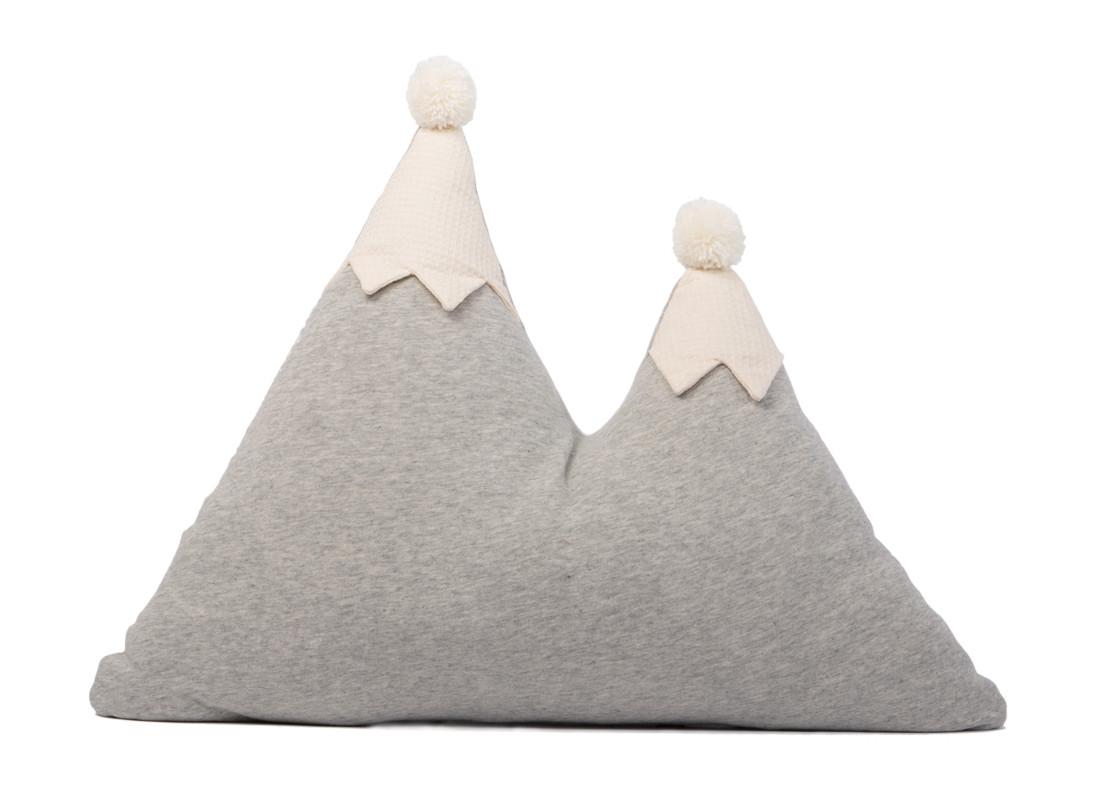 Cojín montaña Snowy 40X50 gris vigoré