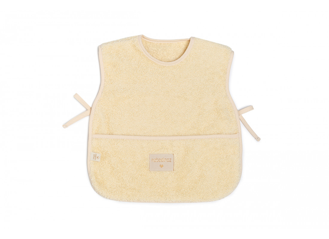 So Cute baby Apron 6-18M • vanilla