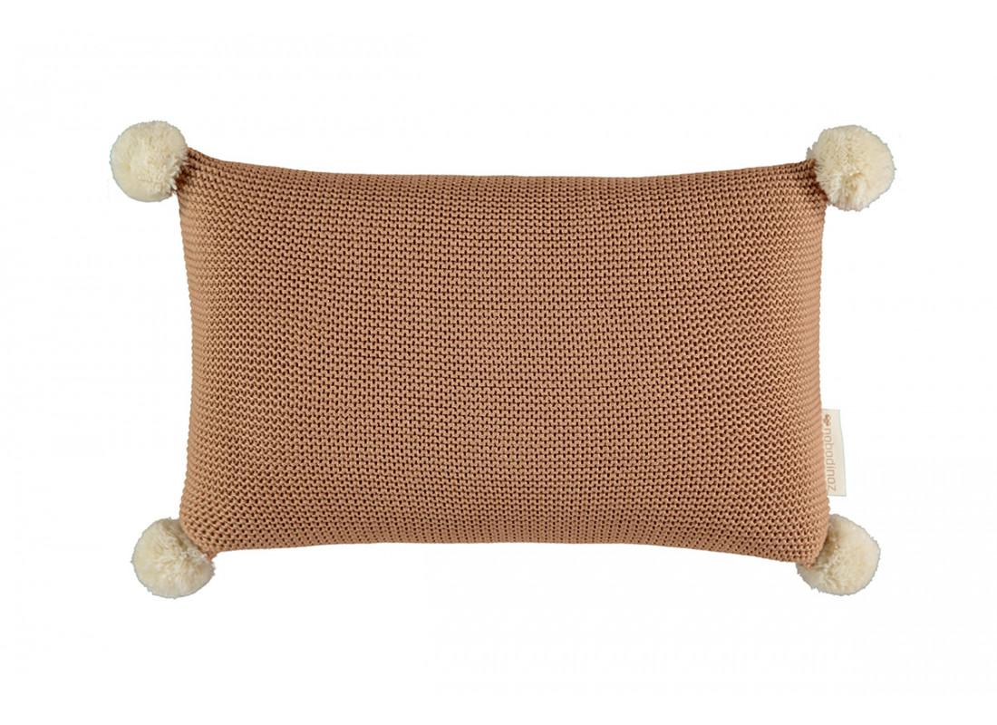Cojín de tricot So Natural • Biscuit