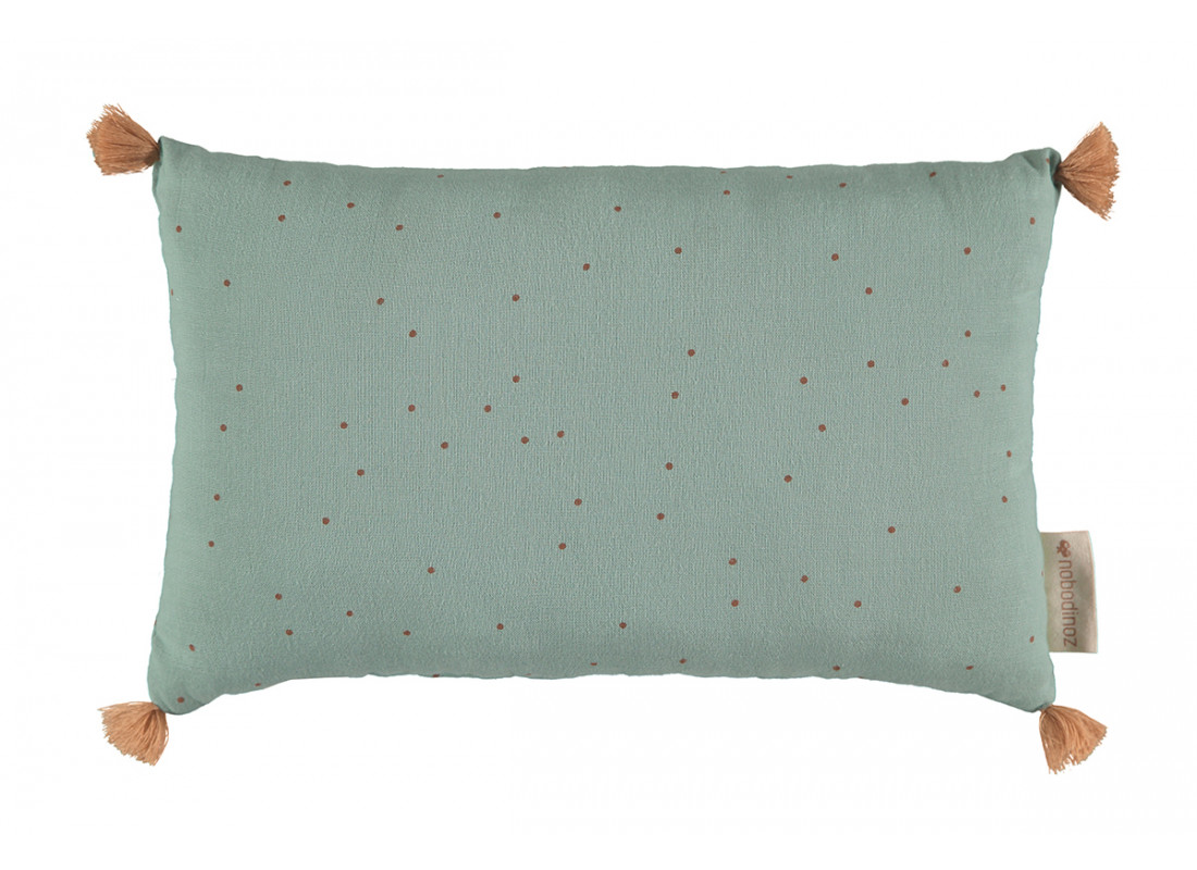 Sublim cushion toffee sweet dots eden green