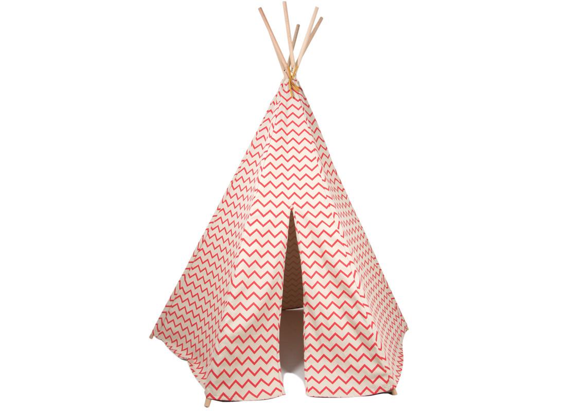 Tipi Arizona • zigzag pink