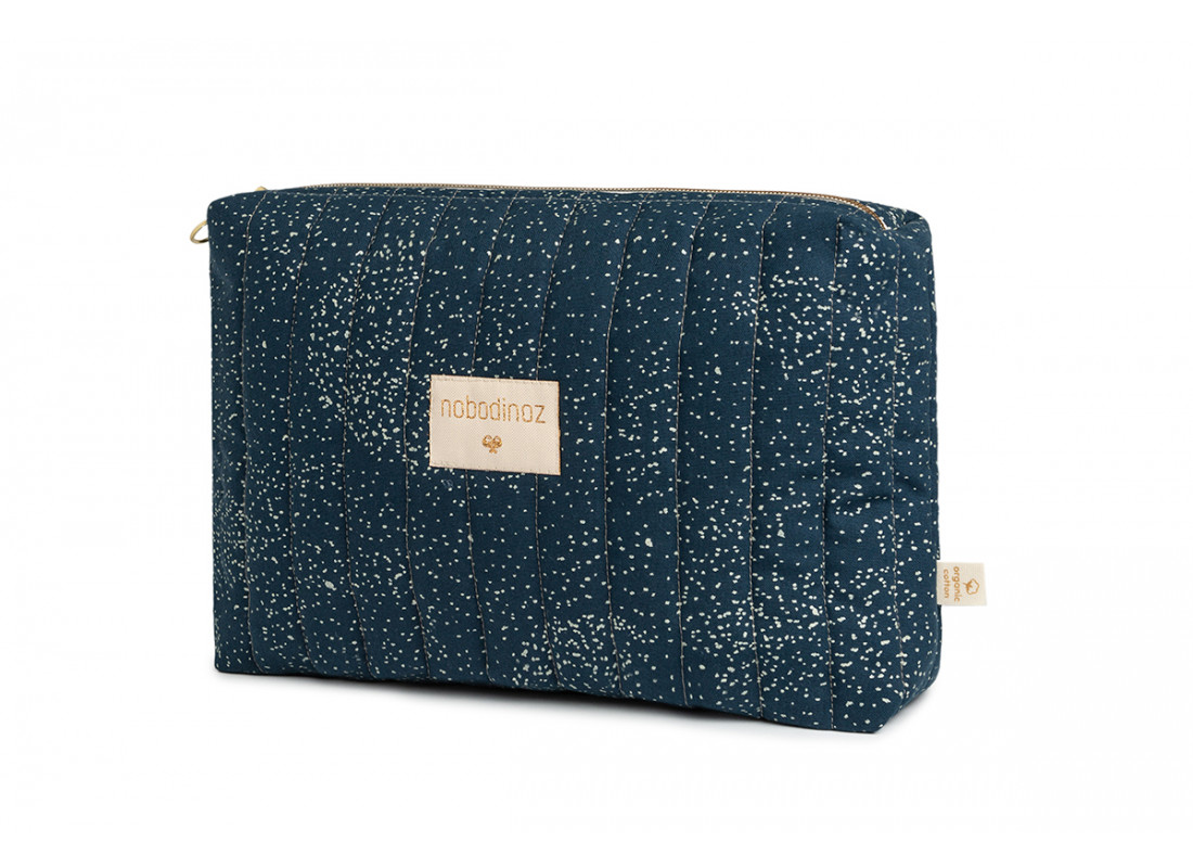 Neceser Travel • gold bubble night blue