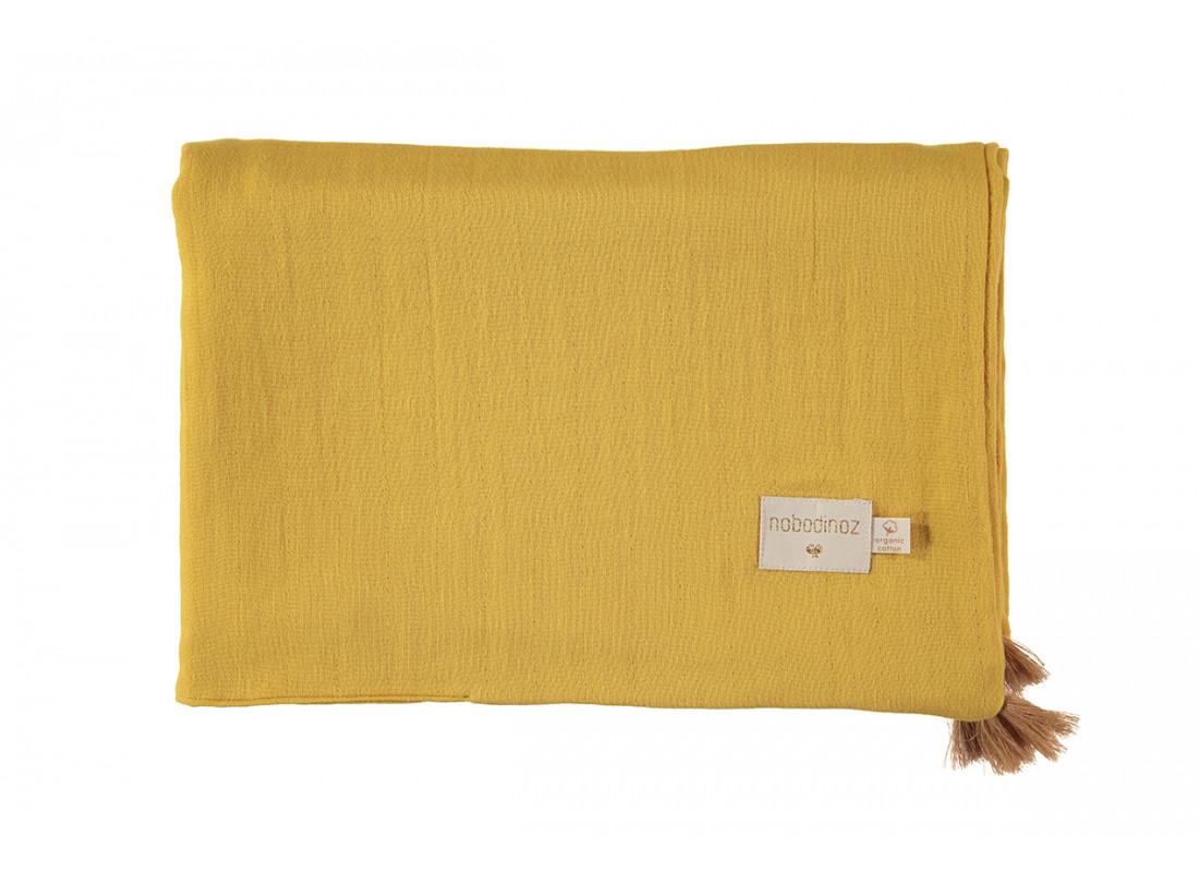 Manta de verano Treasure 70x100 farniente yellow