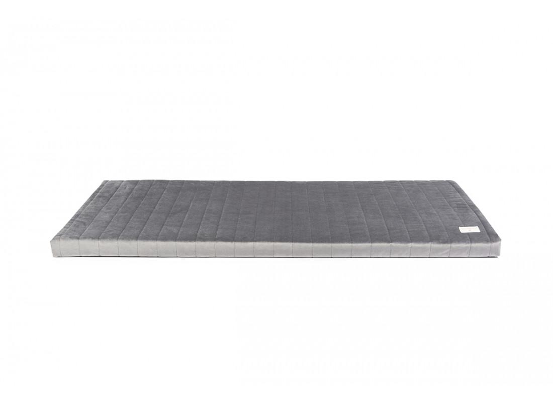 Colchoneta Zanzibar • velvet slate grey