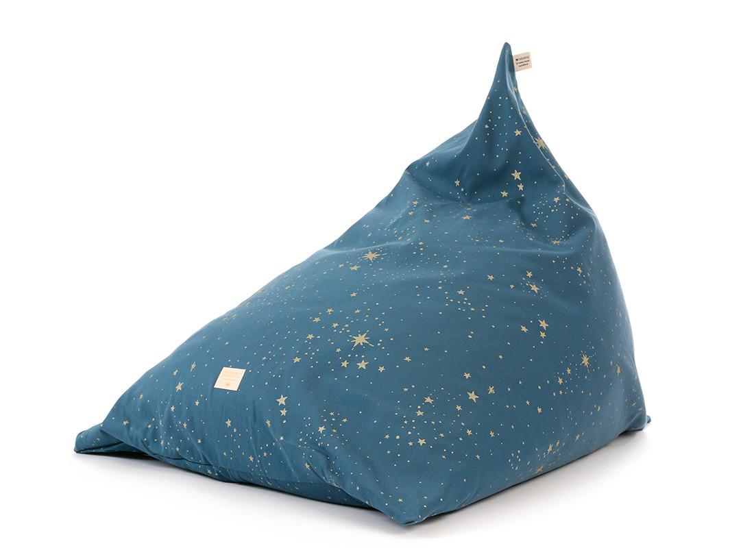 Puf Zen 62x95x75 gold stella/ night blue