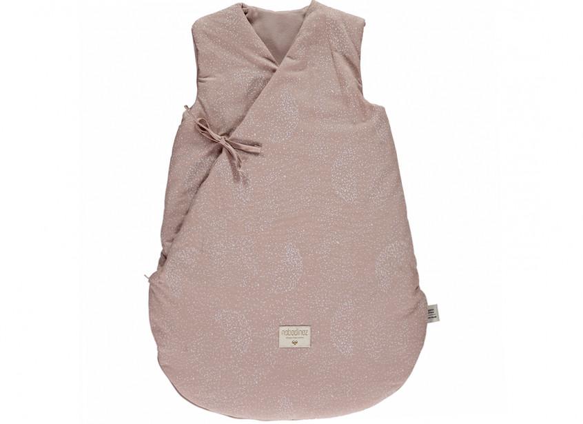 Saco de dormir de invierno Cloud white bubble/ misty pink - 2 tallas