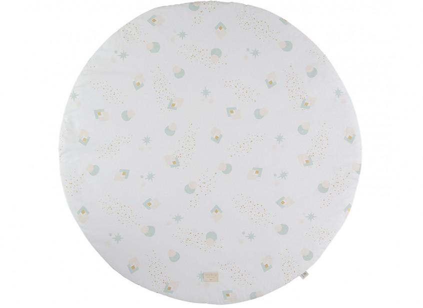 Alfombra de juego Full Moon aqua eclipse/ white - 2 tallas