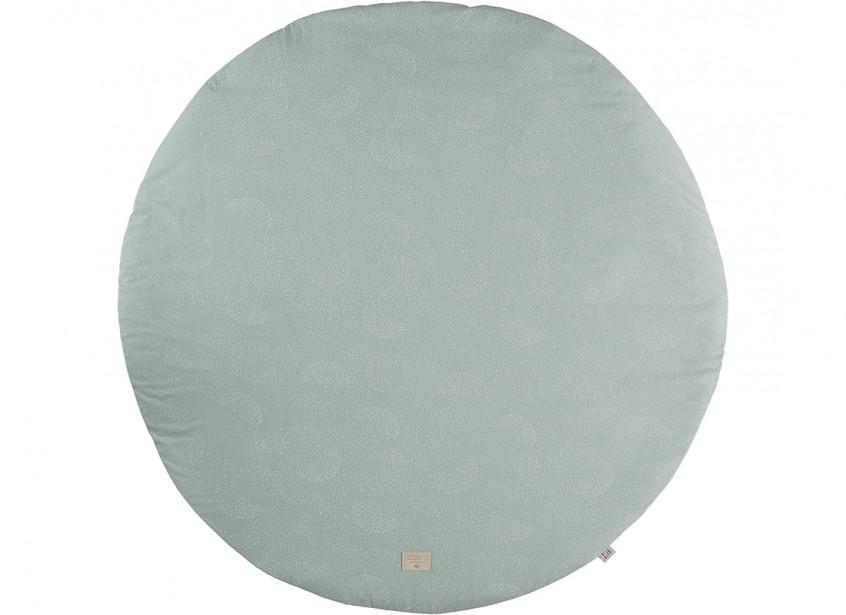 Alfombra de juego Full Moon white bubble/ aqua - 2 tallas
