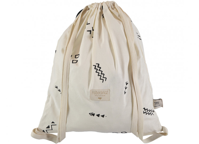 Mochila Koala 40x34 black secrets/ natural