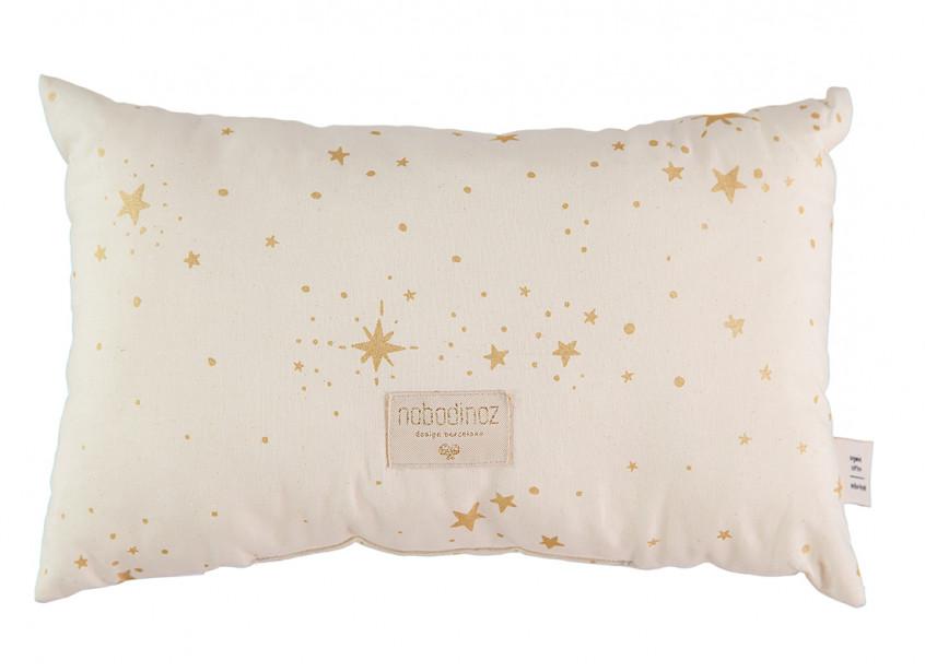Cojin Laurel 22x35 gold stella/ natural